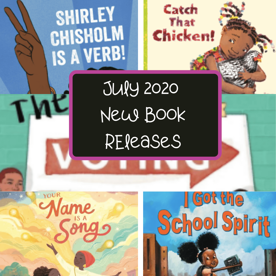 July 2020 New Book Releases