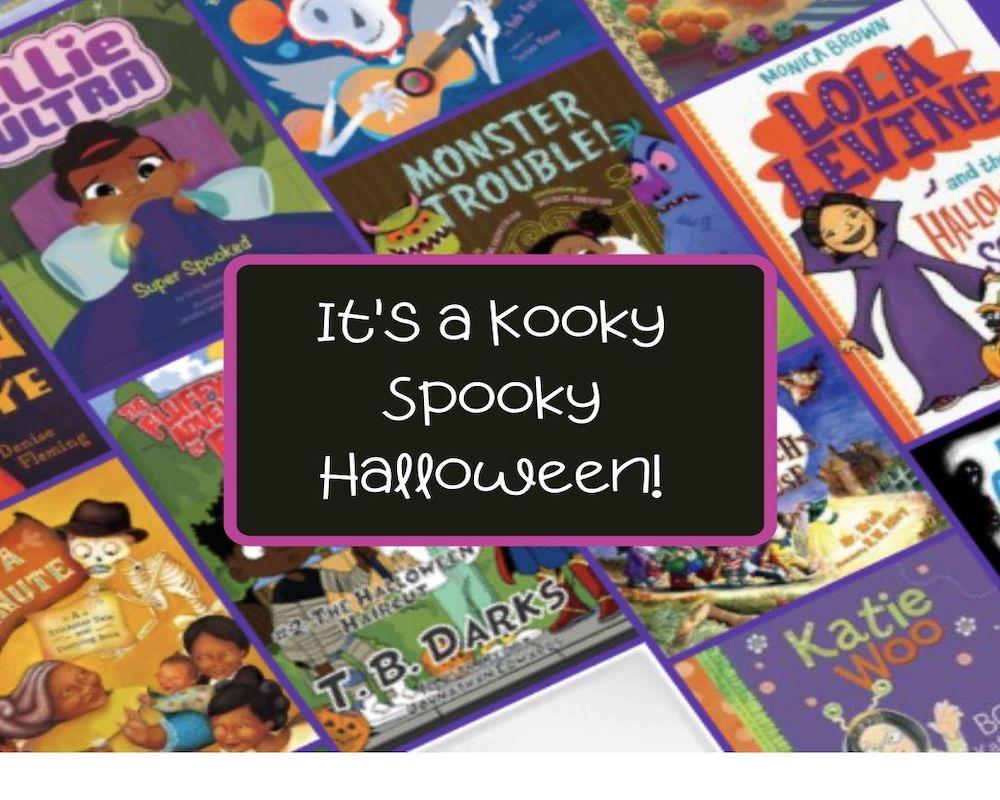 It's a Kooky, Spooky Halloween: 13 Halloween books for Kids