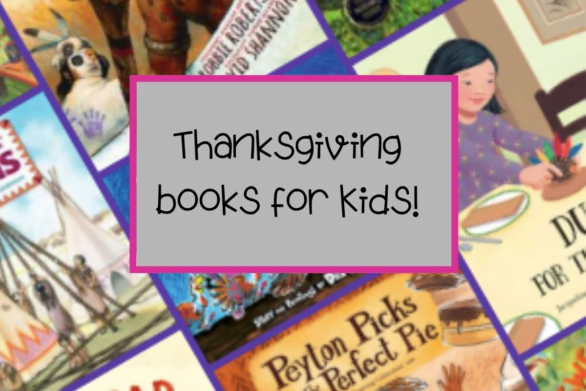 Thanksgiving Books for Kids!