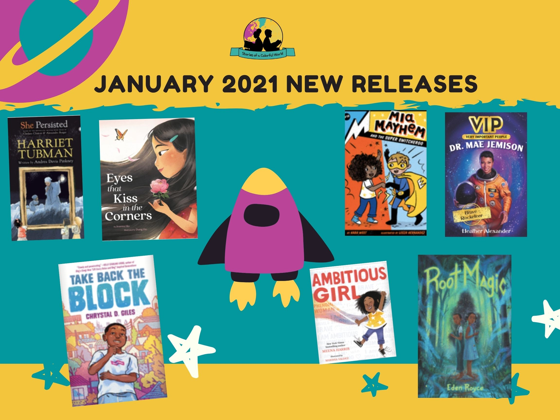 January 2021 New Book Releases