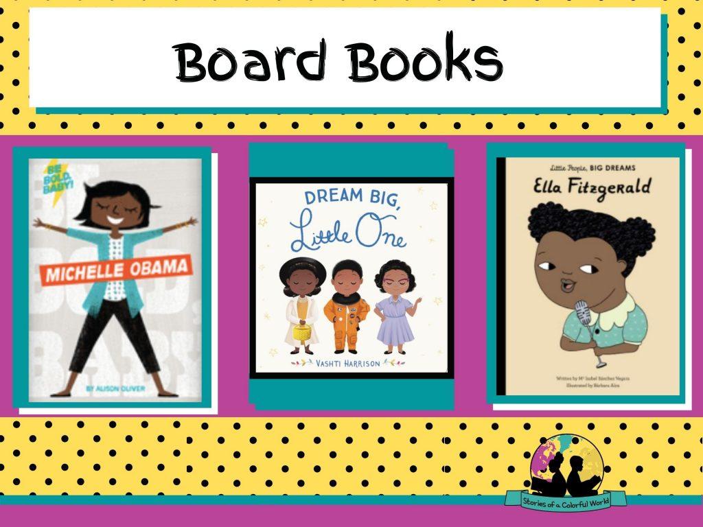 Women's History Board Books