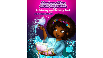 Adventures of Zora and the Magical Mask: A Coloring...
