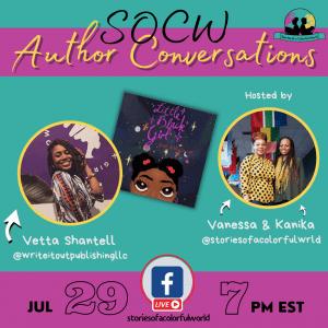 SOCW author conversations (V. Shantell)