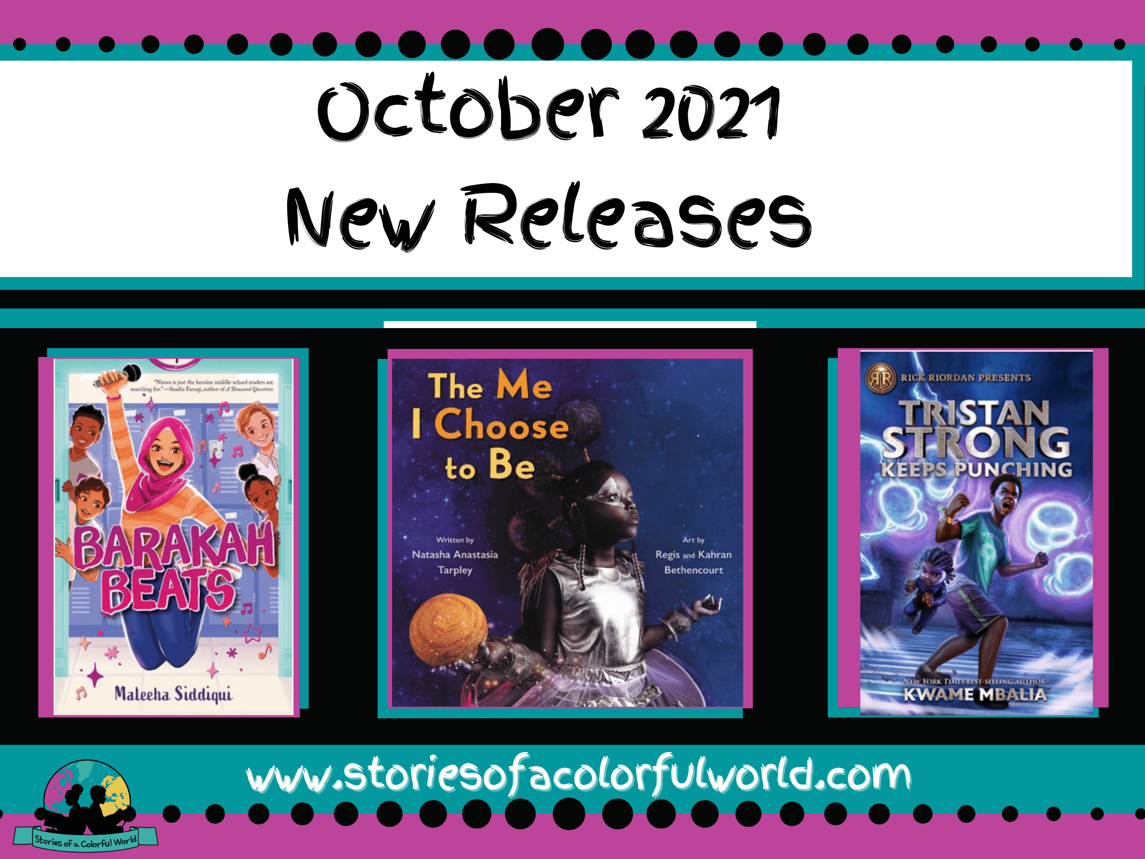 October 2021 New Book Releases