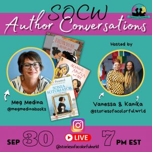 SOCW author conversations (Meg Medina)